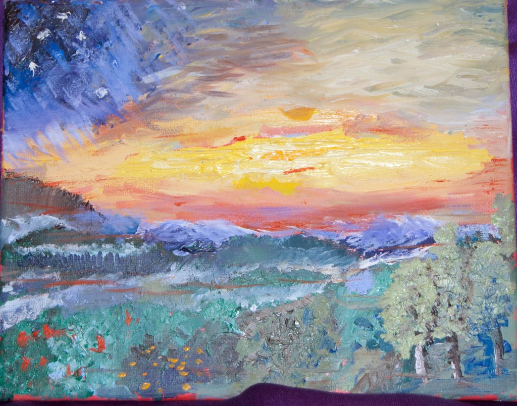 Wingstead Mountain Painting1